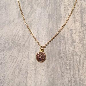 Druzy Crystal Choker Necklace